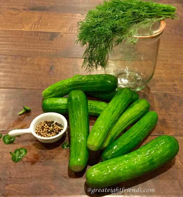 Dill-Pickles-Ingredients