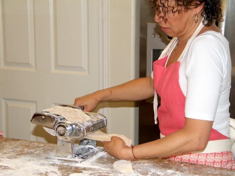Homemade Pasta Debbie Rolling
