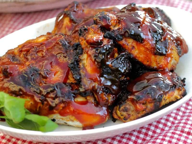 Barbecued Chicken Serving 2