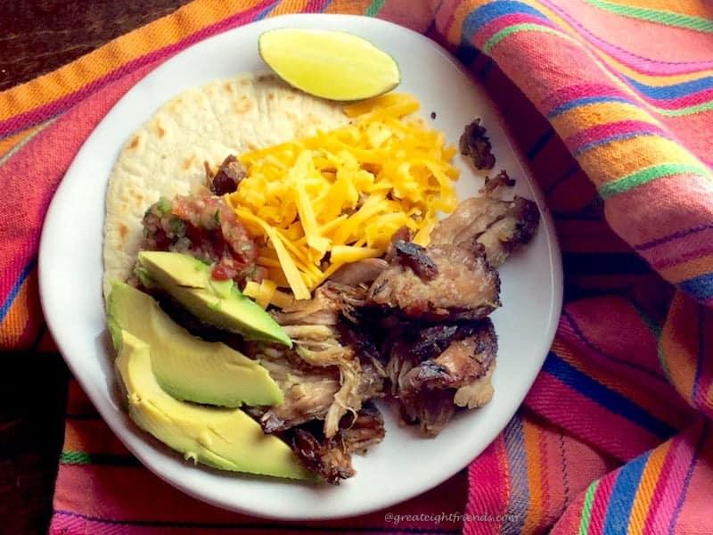 Taco Taco Taco Carnitas Serving