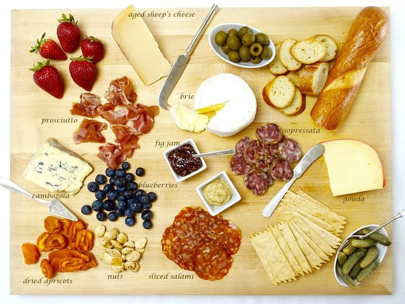 the winner is Cheese and Charcuterie Board