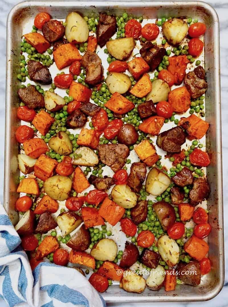 Sheet Pan Lamb Dinner Sheet Pan