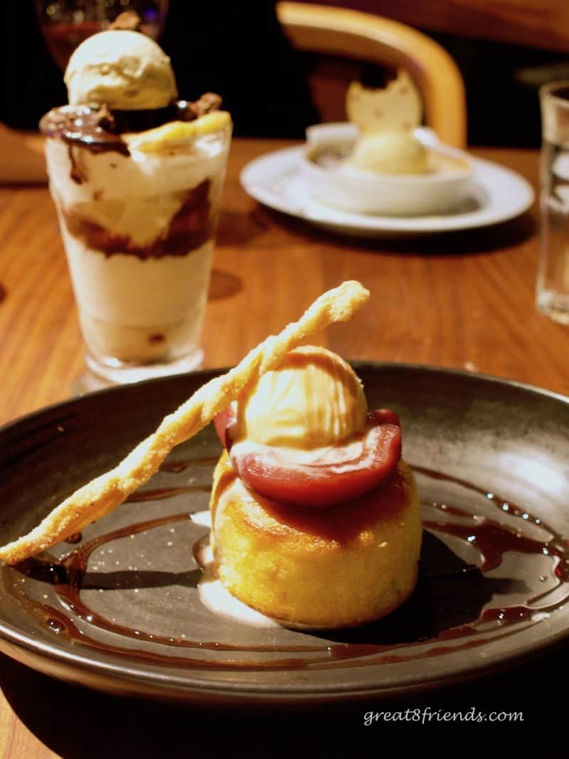 Water Grill Almond Cake