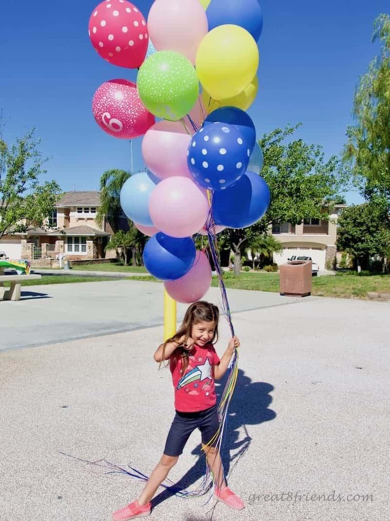 Trolls Birthday Party Balloons