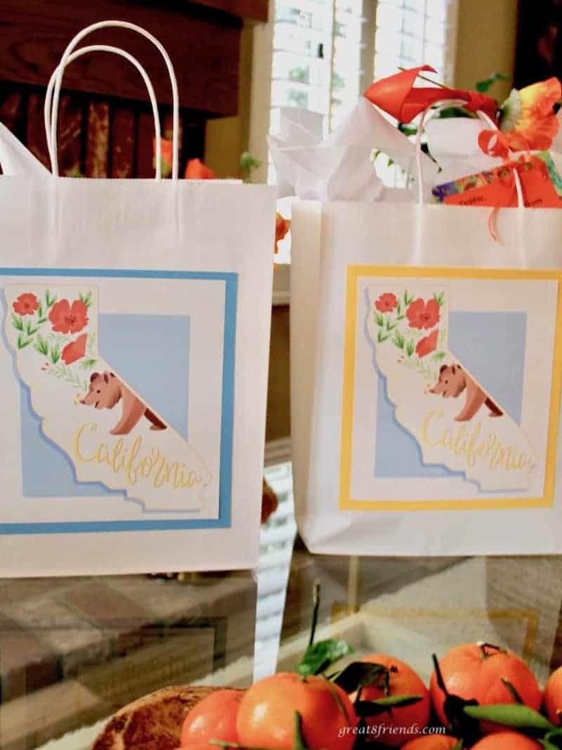 California gift bags