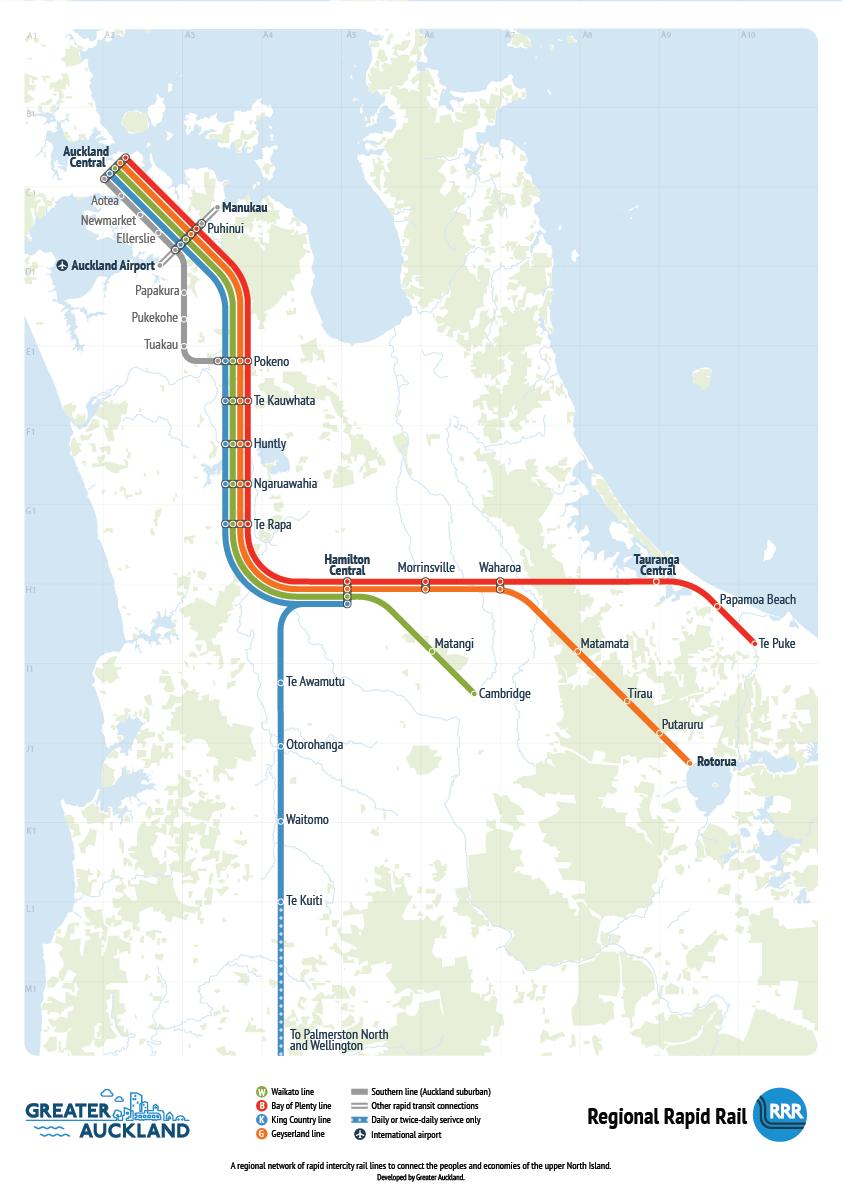 Introducing Regional Rapid Rail - Greater Auckland