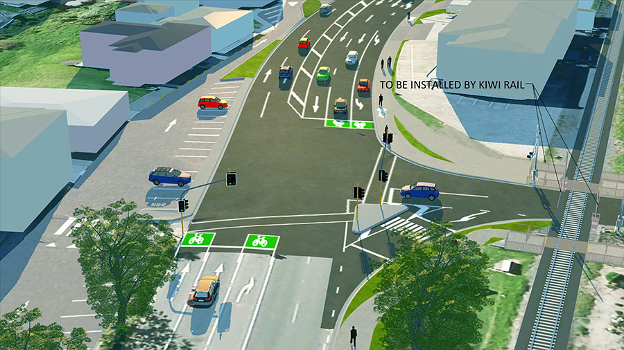 The Huapai Gyratory - Greater Auckland