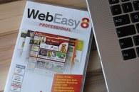 magazine beside laptop