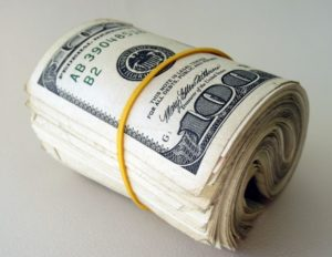 rolled cash
