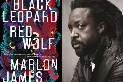 Marlon James discusses 'Black Leopard, Red Wolf' poster