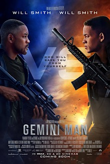 Gemini Man movie poster 2019
