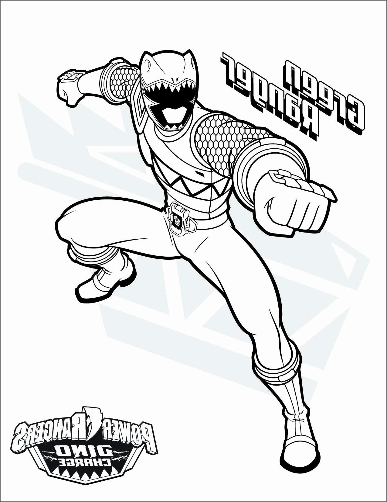 Coloriage Power Rangers A Imprimer