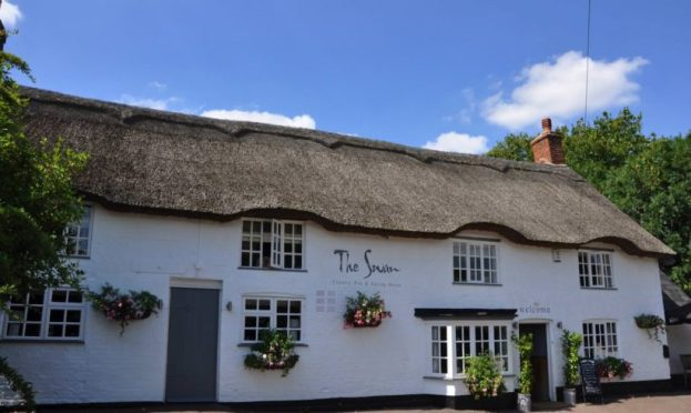 Image result for The Swan at  Braybrooke