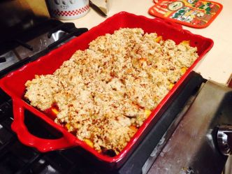 Gluten and Dairy Free Peach Cobbler