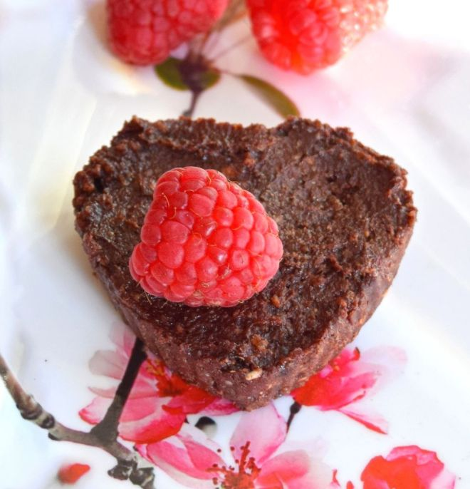 Paleo Raspberry Fudge