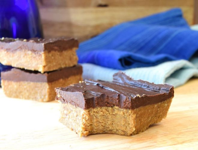 Paleo Chocolate Sunbutter Bars
