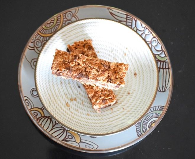 Grain Free Maple Granola Bars
