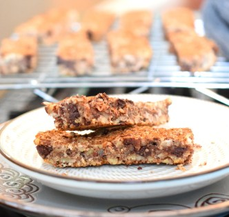 Grain Free Maple Granola Bars