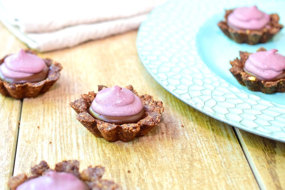 Paleo Chocolate Blackberry Tartlets