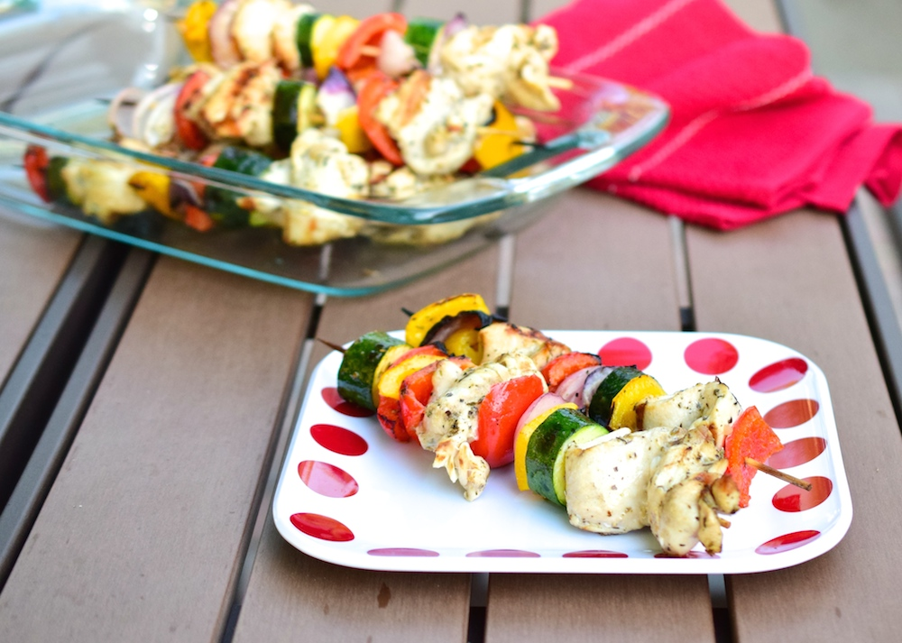 Paleo Grilled Chicken Skewers