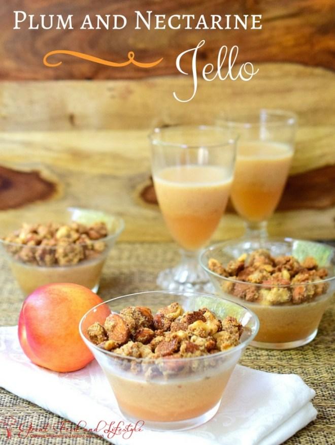 Nectarine Jello