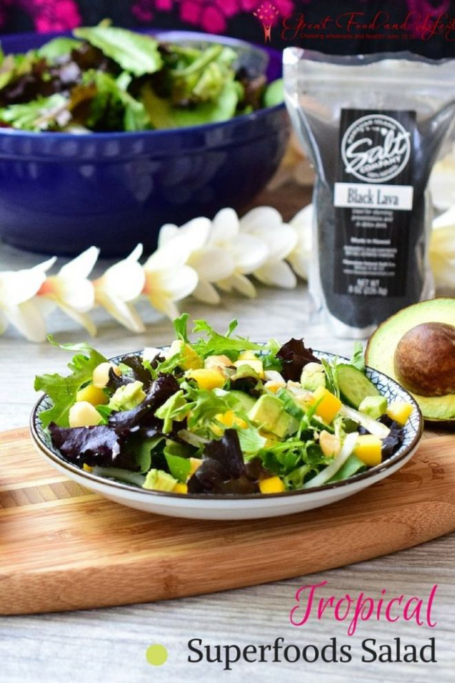 Tropical Superfoods Salad