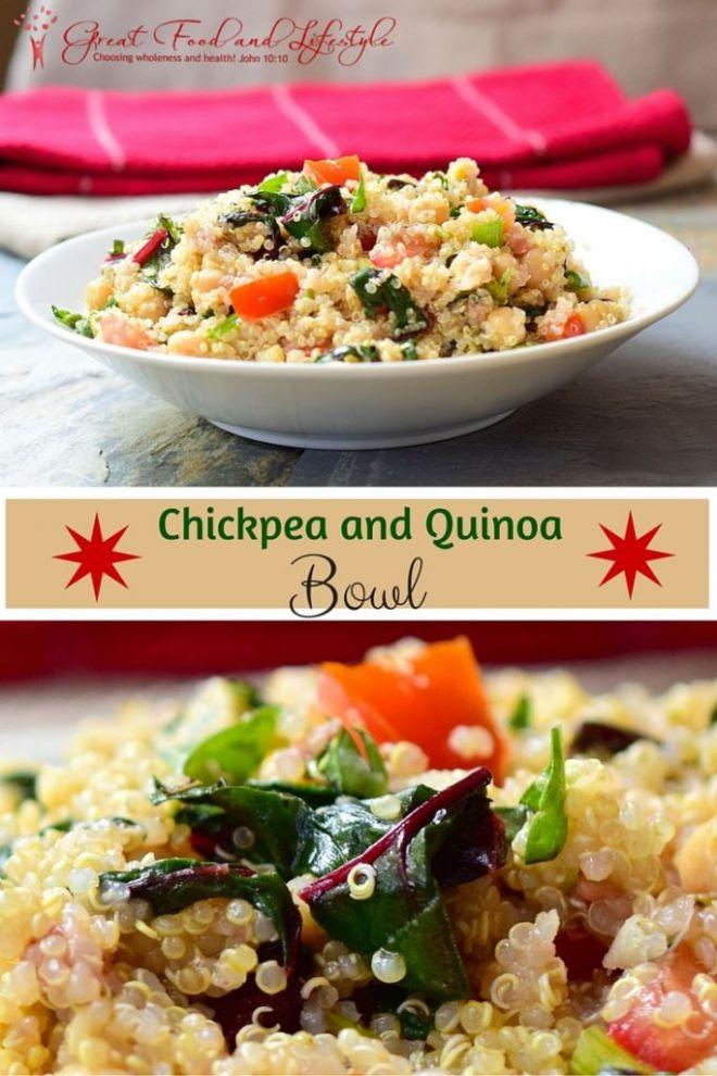 Chickpea and Quinoa Bowl