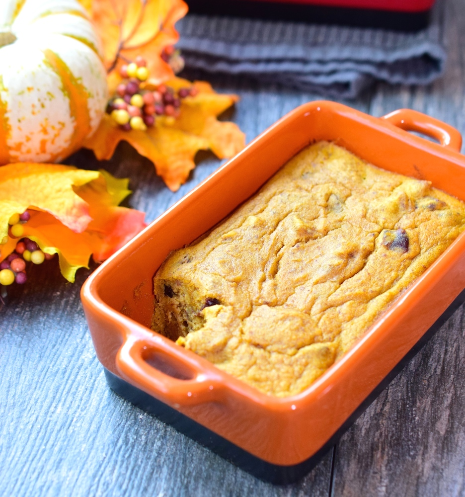 Healthy Pumpkin Bake