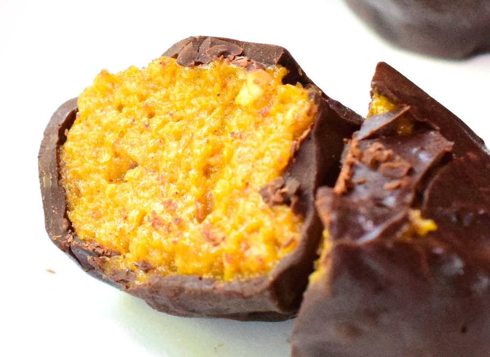 Vegan Pumpkin Pie Truffles