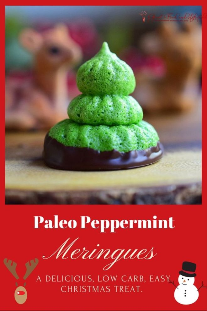 Paleo Peppermint Meringue