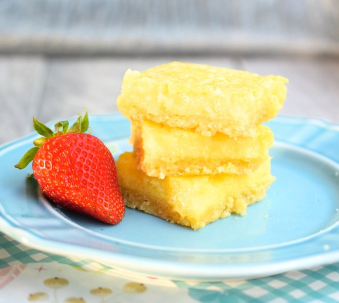 Low Carb Lemon Bars
