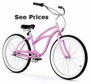 three speed 24 cruiser pink