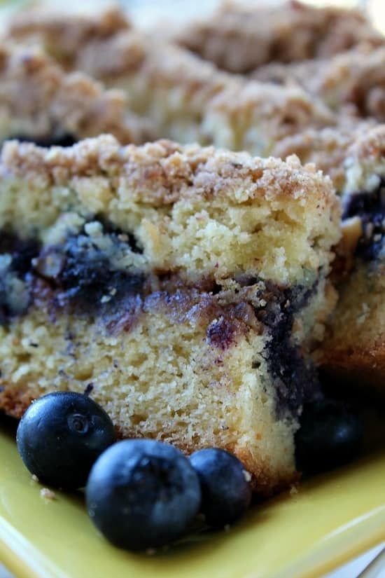 Blueberry Streusel Coffee Cake Sour Cream