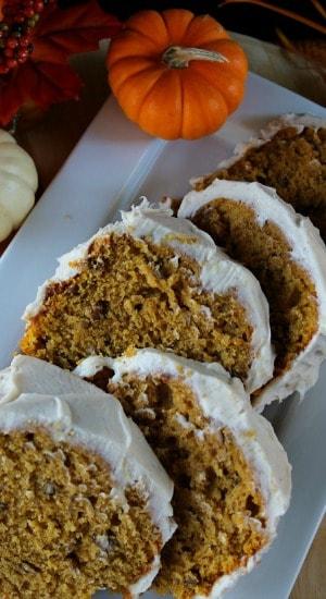 Pumpkin Pecan Cake