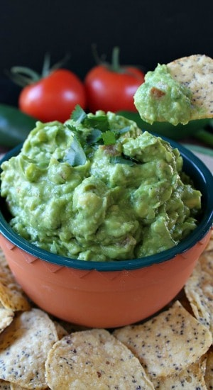 Fresh Spicy Guacamole