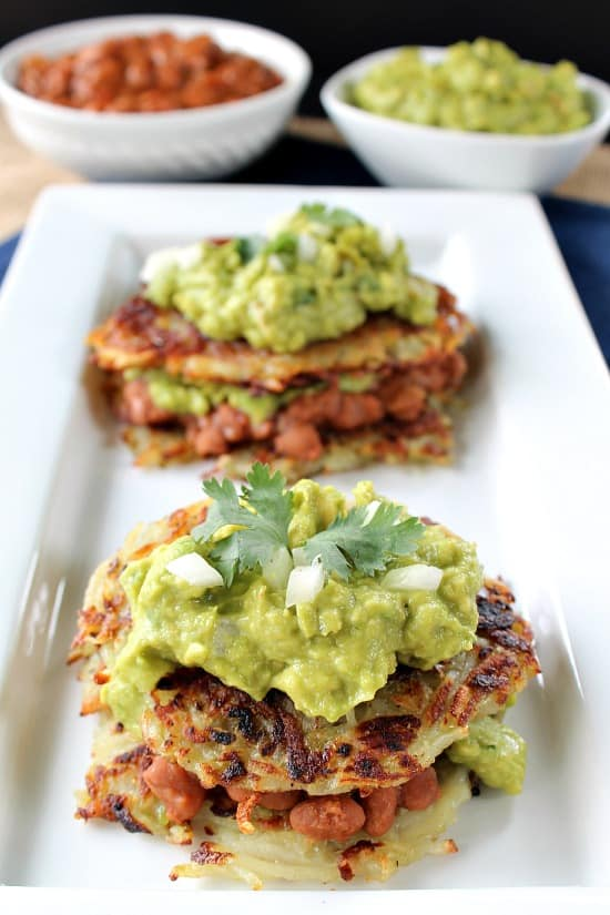 Mexican Hash Brown Sliders