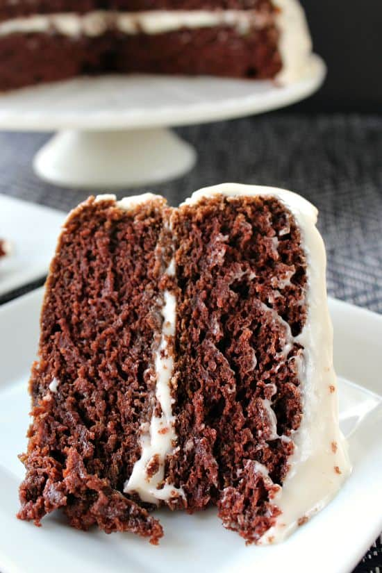 Chocolate Avocado Zucchini Cake