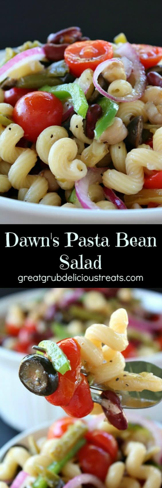 Dawn's Pasta Bean Salad