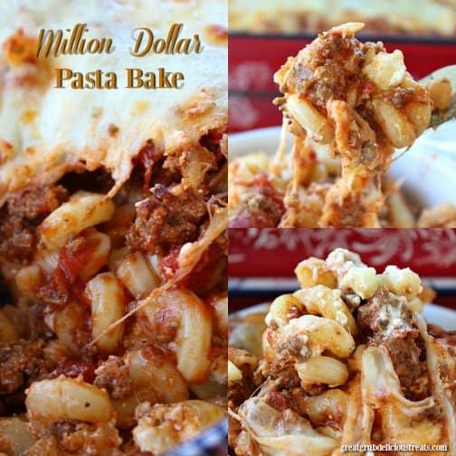 Million Dollar Pasta Bake Great Grub Delicious Treats