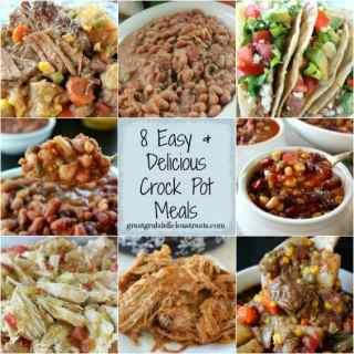 8 Easy & Delicious Crock Pot Meals