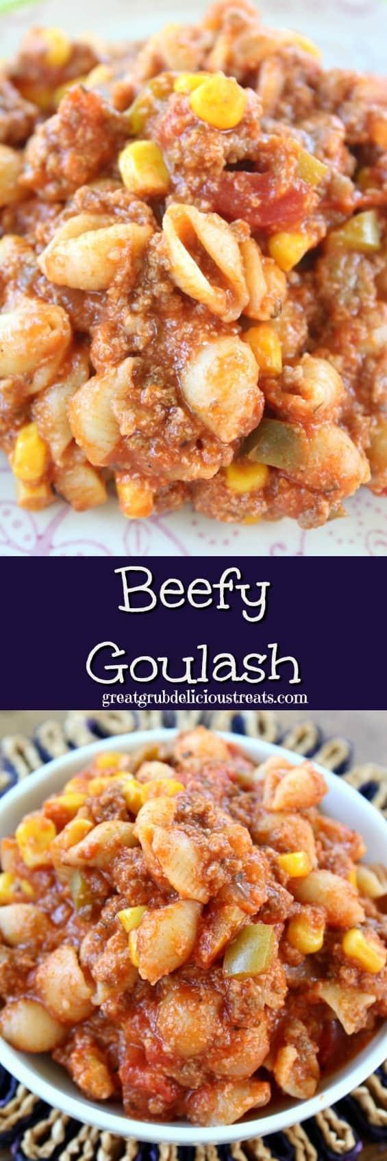 Beefy Goulash