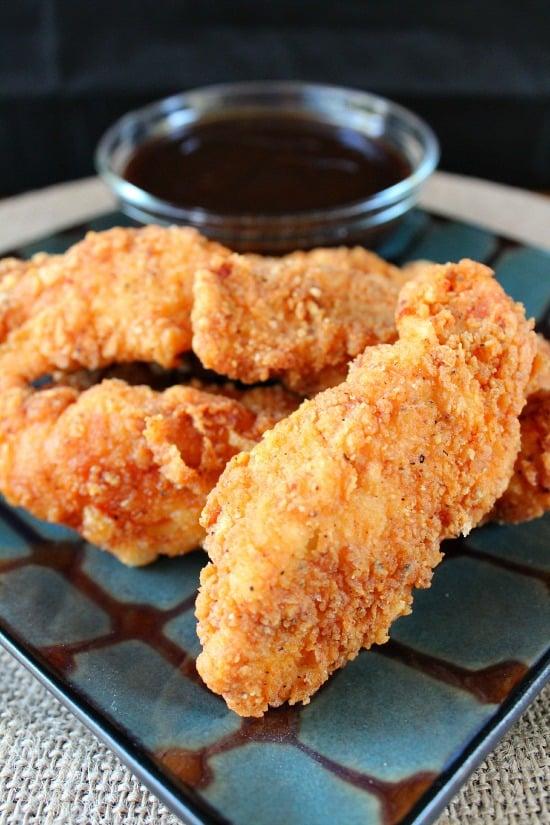 Crunchy Chicken Strips