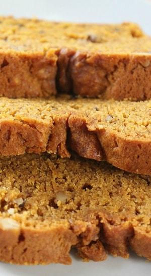 Pumpkin Walnut Bread