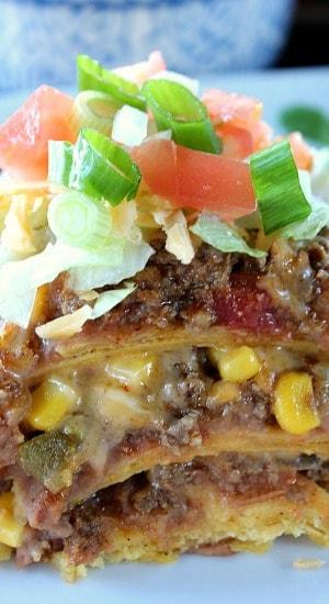 Taco Pie Casserole