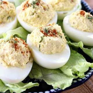 Deviled Eggs with a Tuna Twist