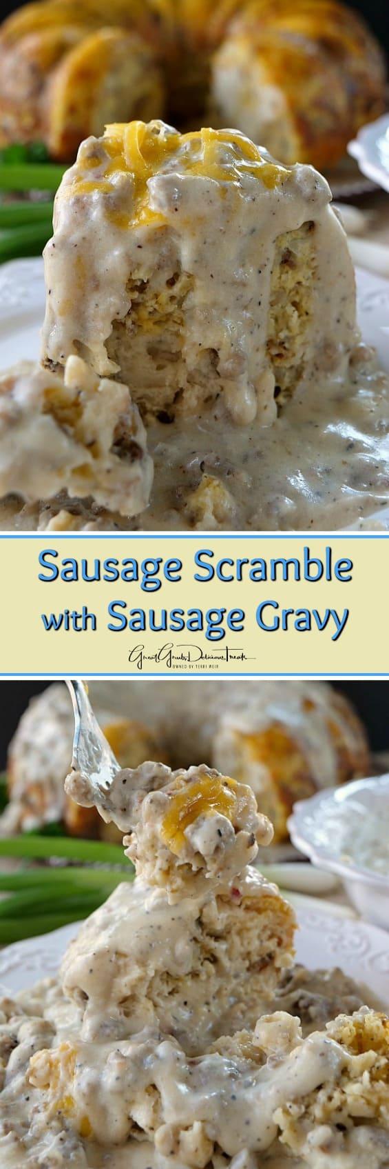 Sausage Scramble with Sausage Gravy