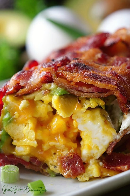 Bacon Breakfast Roll Ups