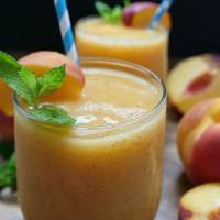 Peach Wine Slush