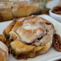 Easy Crescent Cinnamon Rolls