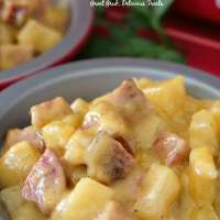 Kielbasa Sausage Cheesy Potato Casserole